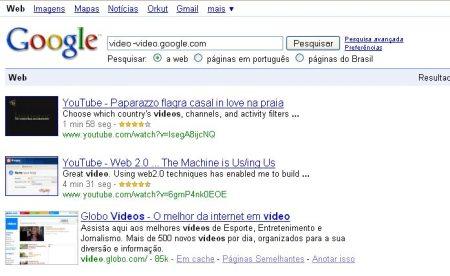 google minus google