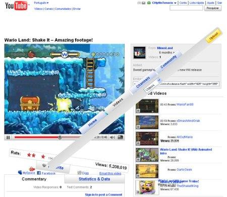 wii destruindo youtube